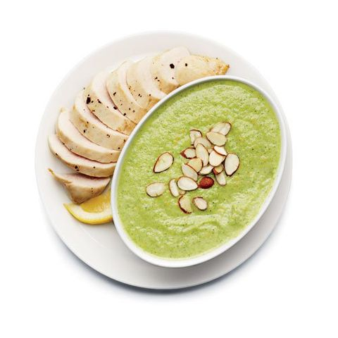 Chicken with Cheesy Broccoli Soup