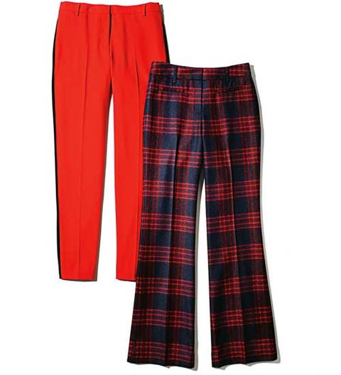 Straight Pants vs. Wide Pants