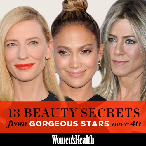 13 Beauty Secrets From Gorgeous Stars Over 40