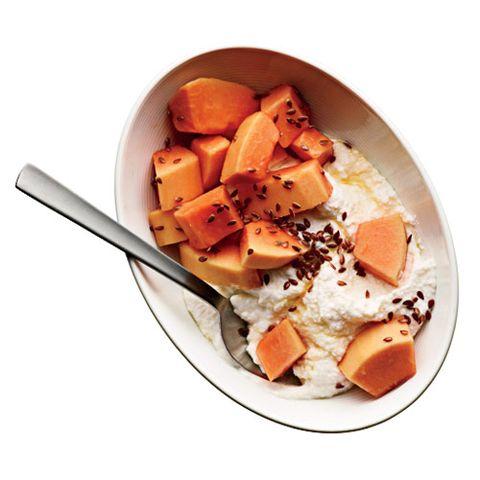 Breakfast idea: ricotta swirl