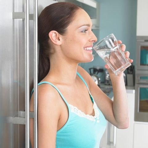 Detox Myth 2: Drinking loads of water detoxes the body.