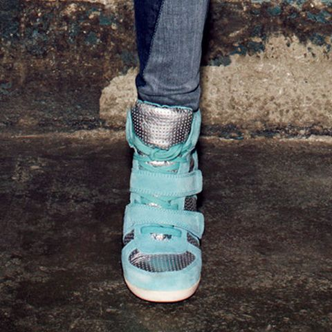 High-Top Sneakers: Ash Shoes