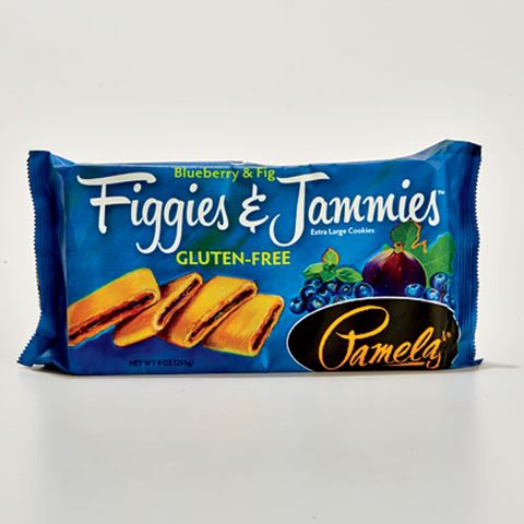 Pamela's Figgies & Jammies Fig Cookies: Blueberry & Fig
