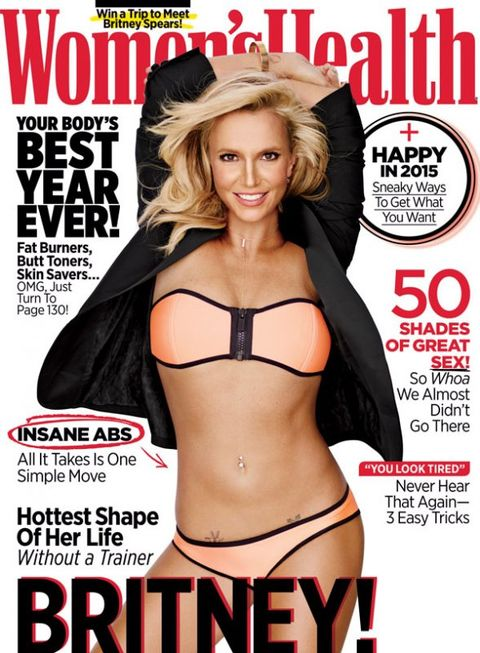 See Britney Spears on our January/February 2015 Issue