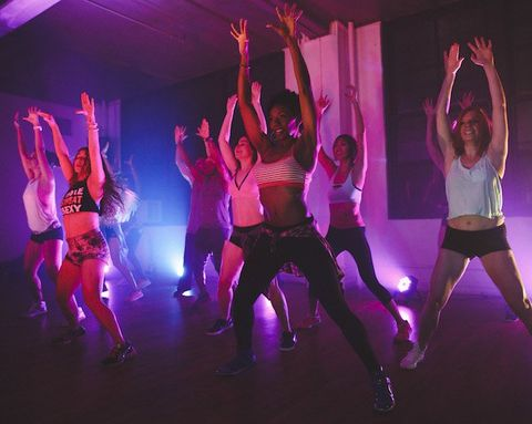 What to Blast When You Want Your Workout to Feel Like a Dance Party