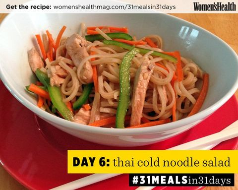 This Thai Noodle Salad Makes the Perfect Packed Lunch