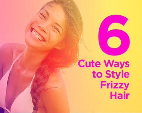 6 Adorable 'Dos for Frizzy-Hair Weather