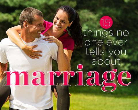 15 Things No One Ever Tells You About Marriage