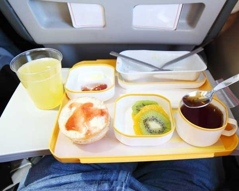 The Best and Worst Airline Food