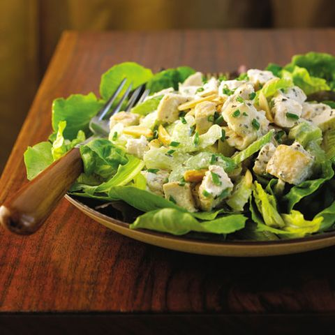 Toasted Almond Chicken Salad