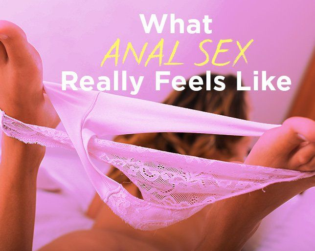 Describe anal orgasm in women