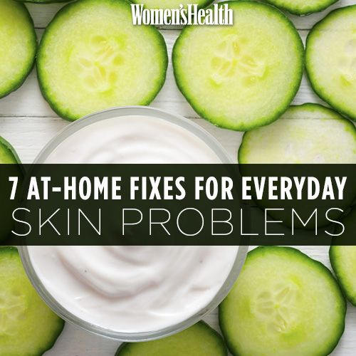 7 At-Home Fixes For Everyday Skin Problems