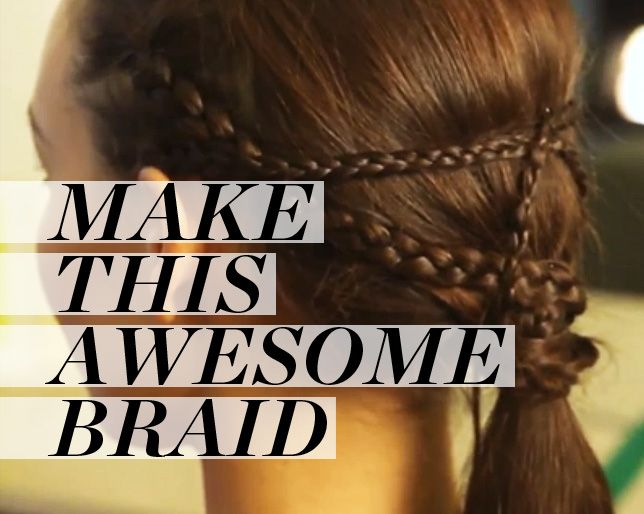 How to Create a Game of Thrones-Worthy Braided Pony