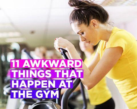 11 awkward gym moments every girl has endured