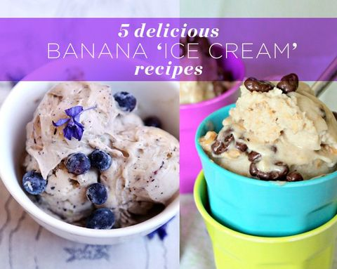 5 Delicious Banana 'Ice Cream' Recipes