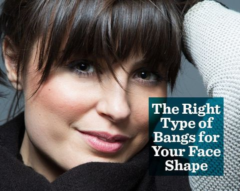 The Right Type of Bangs for Your Face Shape