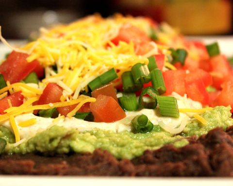 A Super Bowl-Worthy 6-Layer Dip That's Actually Healthy