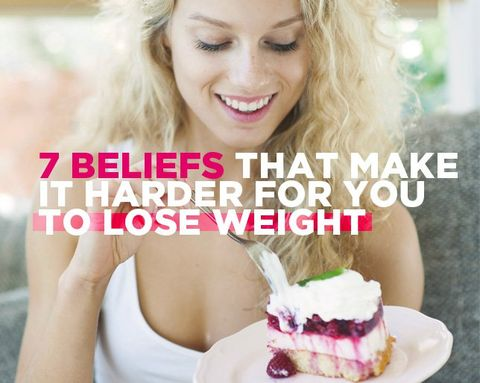 7 Beliefs That Make It Harder for You to Lose Weight