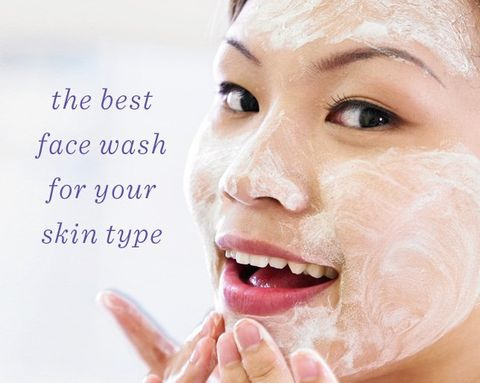 The Best Face Wash for Your Skin Type