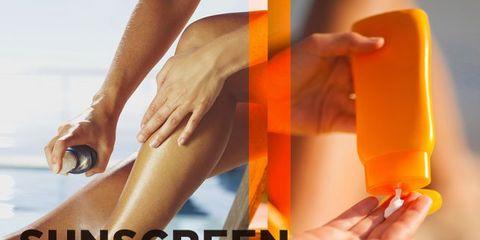 Sunscreen Sprays, Lotions, or Sticks