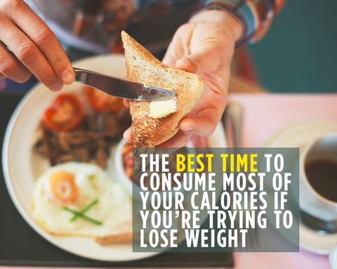 The Best Time to Consume Most of Your Calories If You're Trying to Lose Weight