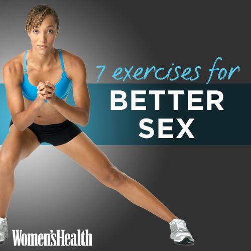 7 Exercises for Better Sex