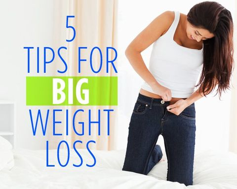5 Tips For Big Weight Loss