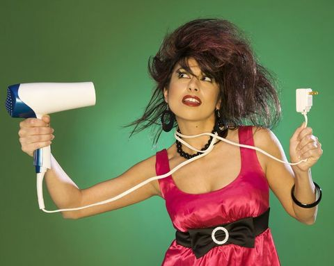 7 Blow-Dryer Mistakes You're Probably Making