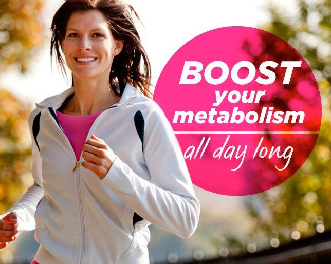 Boost Your Metabolism All Day Long