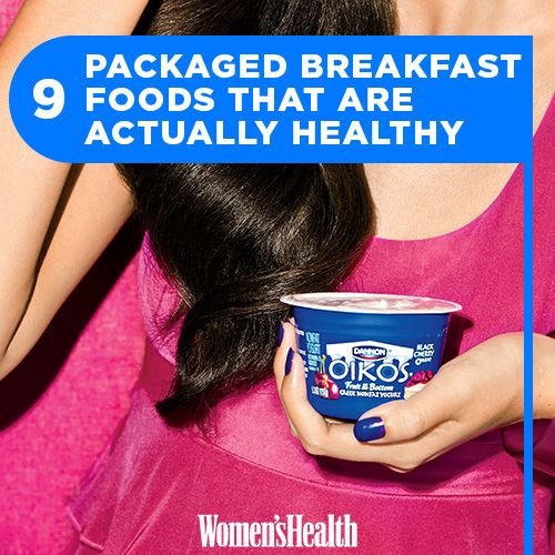 9 Packaged Breakfast Foods That Are Actually Healthy