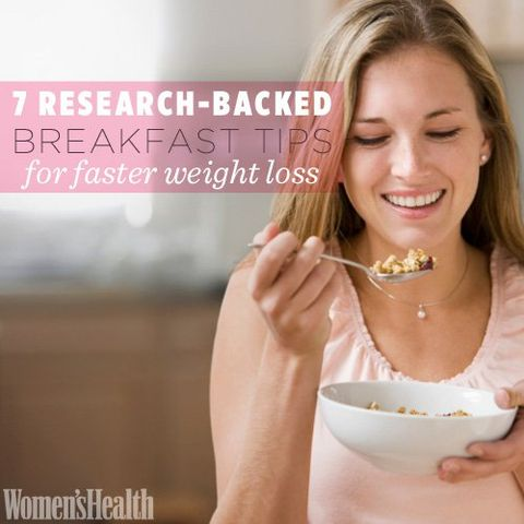 7 Research-Backed Breakfast Tips for Faster Weight Loss