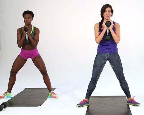 5-Minute Workout: Tone Your Butt and Thighs