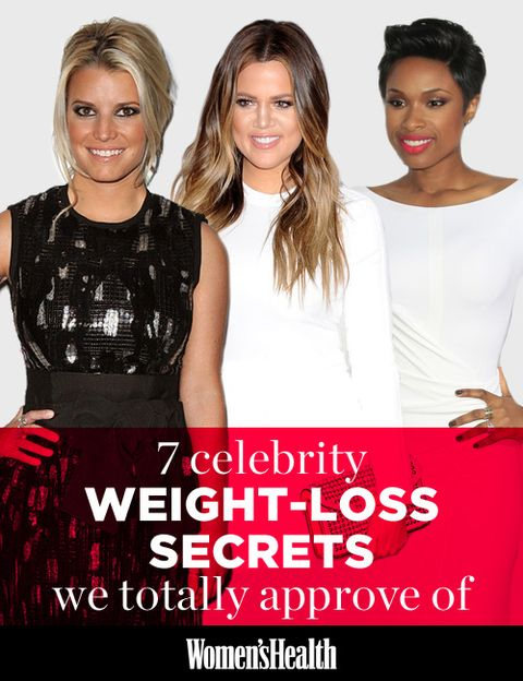 7 Celebrity Weight Loss Secrets We Totally Approve Of