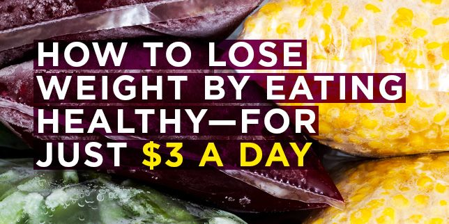 How To Lose Weight By Eating Healthy For Just 3 A Day