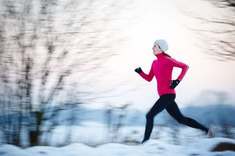 Does Working Out in the Cold Burn More Calories?
