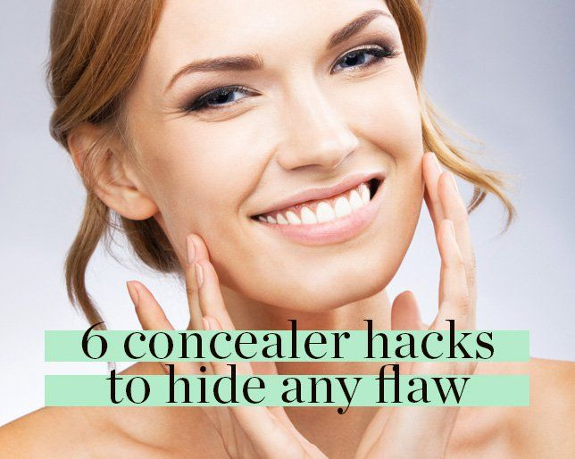 6 Concealer Hacks to Hide Any Flaw