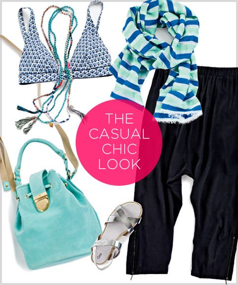 THE CASUAL-CHIC LOOK