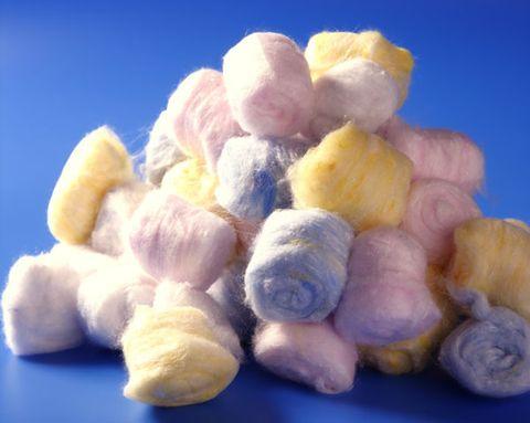 cotton ball diet foods