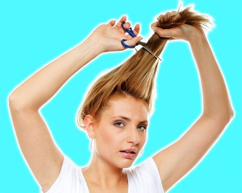 How to Cut Your Own Hair Without Ruining It