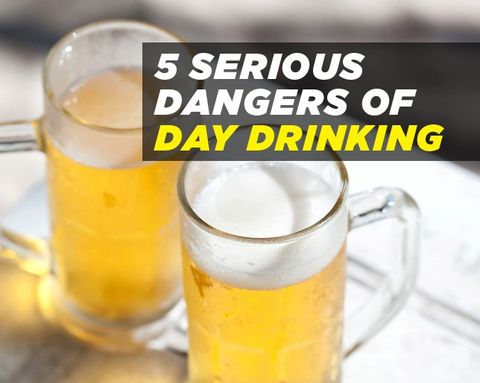 5 Serious Dangers of Day Drinking
