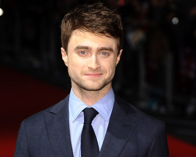 What Daniel Radcliffe Looks Like With Long Wavy Hair