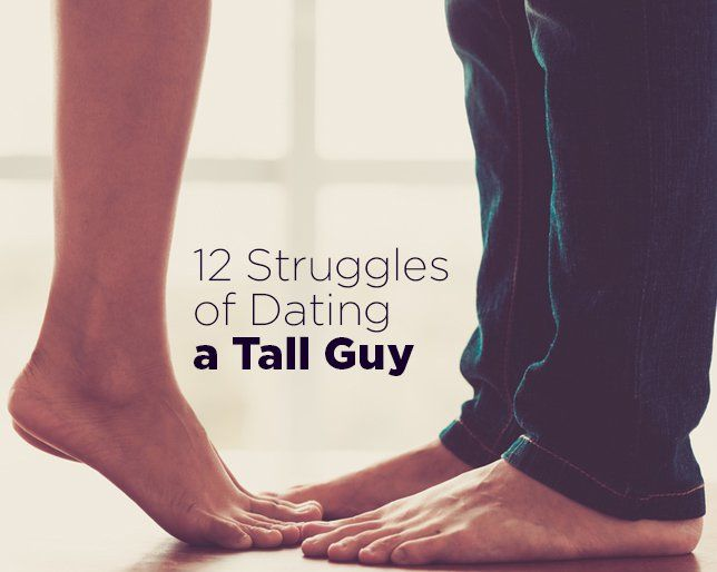 Dating a tall man
