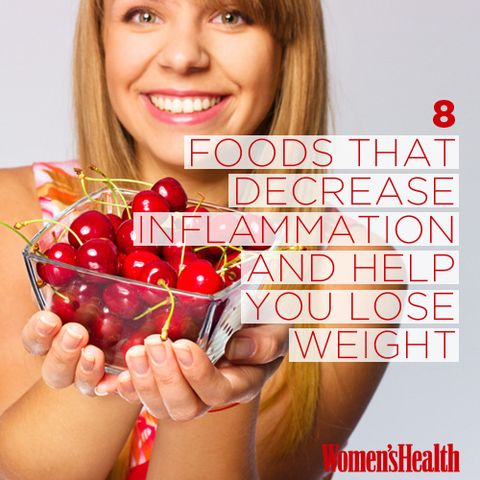 8 Foods That Decrease Inflammation and Help You Lose Weight