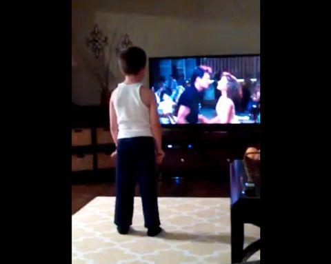 You NEED to See This 8-Year-Old Boy Nail the 'Dirty Dancing' Choreography