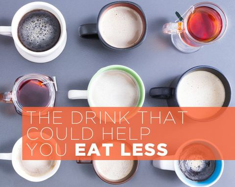 The Drink That Could Help You Eat Less