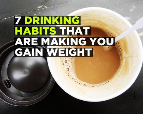 7 Drinking Habits That Are Making You Gain Weight