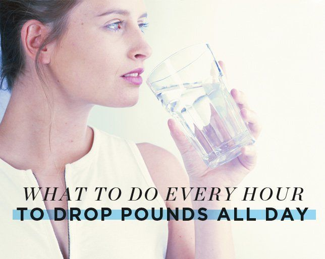 What to Do Every Hour to Drop Pounds All Day