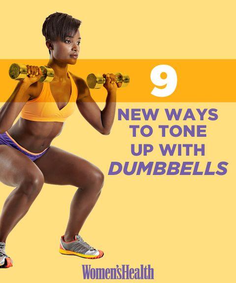 Creative Ways To Use Dumbbells