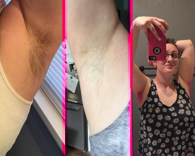 Tutorial How To Dye Your Armpit Hair