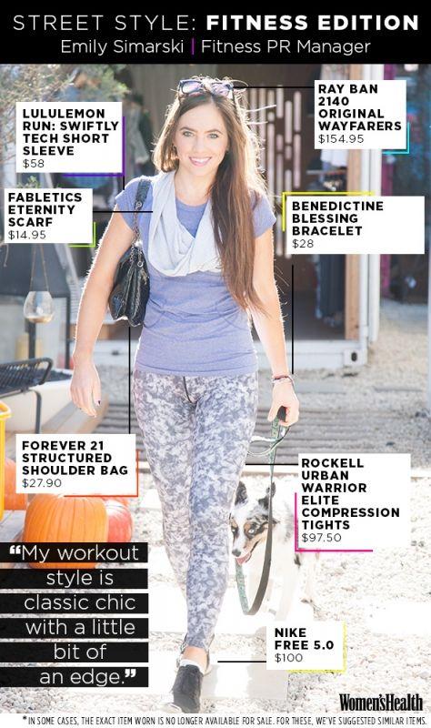 Emily Simarski, Fitness PR Manager
